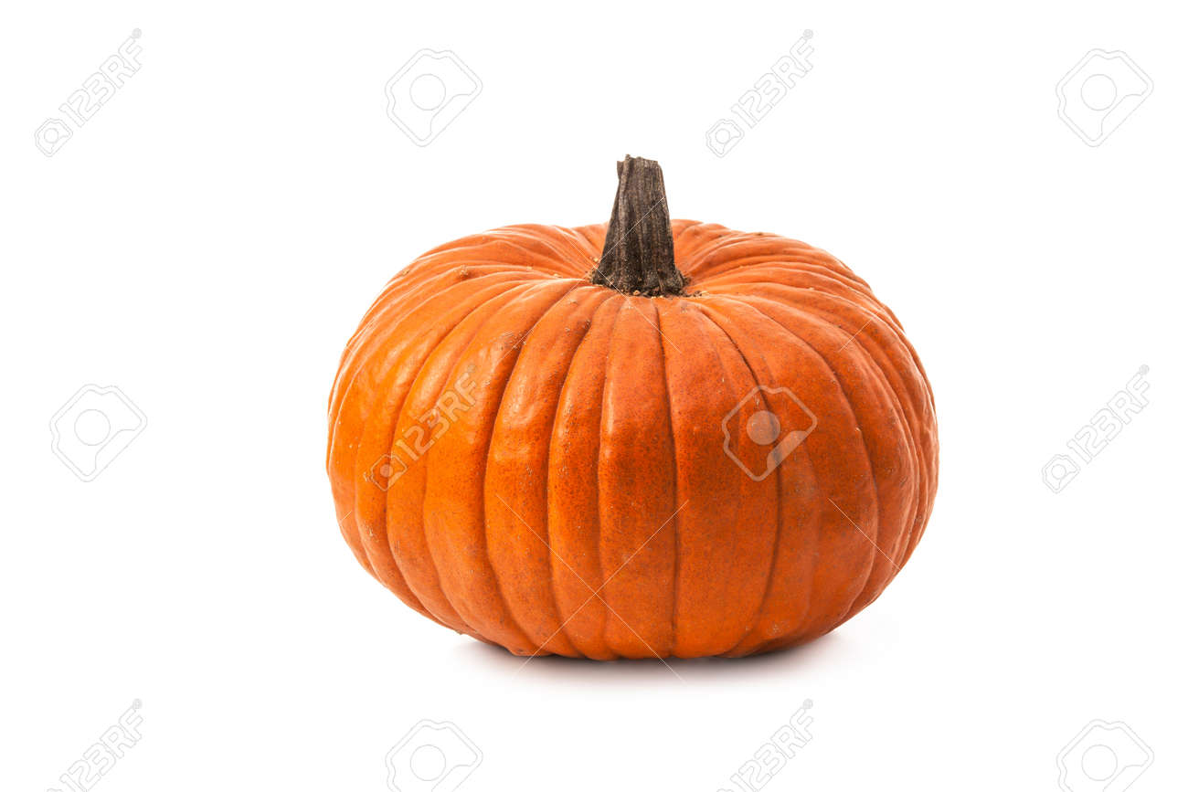 Pumpkin isolated on white background Stock Photo - 47541740