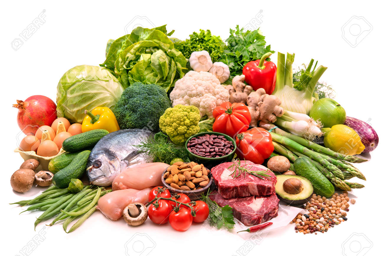 Balanced diet food - 123714661
