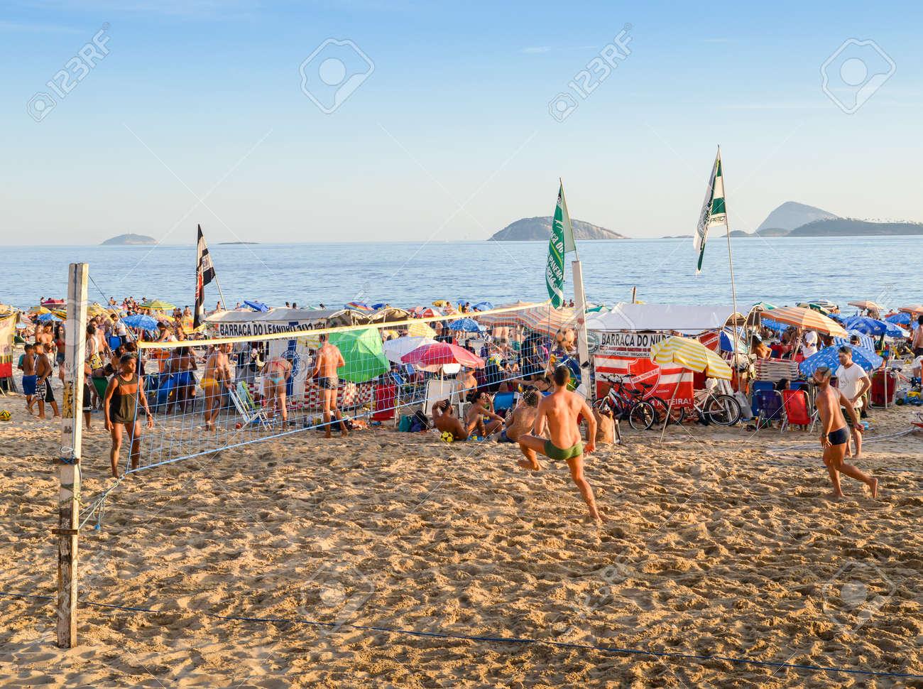 Brazil People Beach