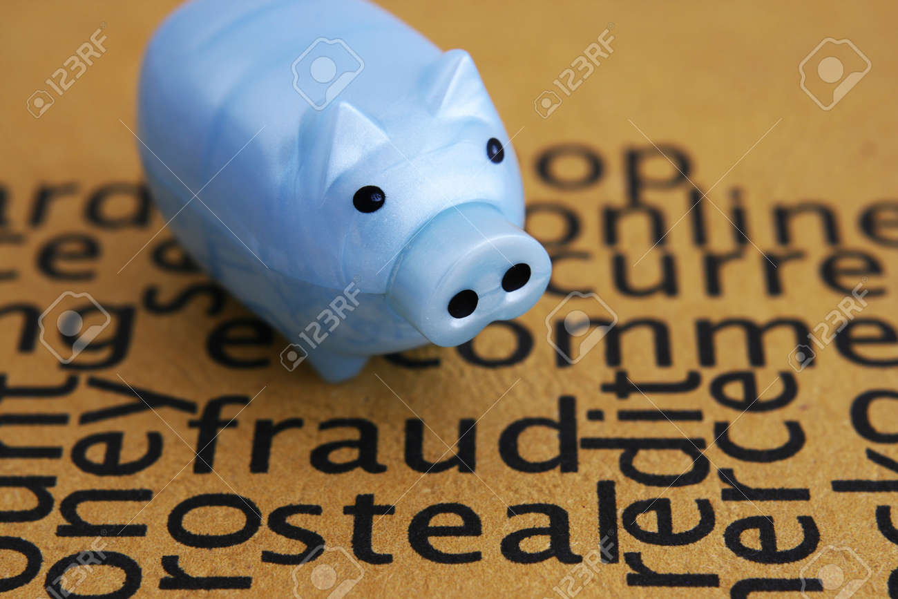 Fraud and steal concept Stock Photo - 13576437