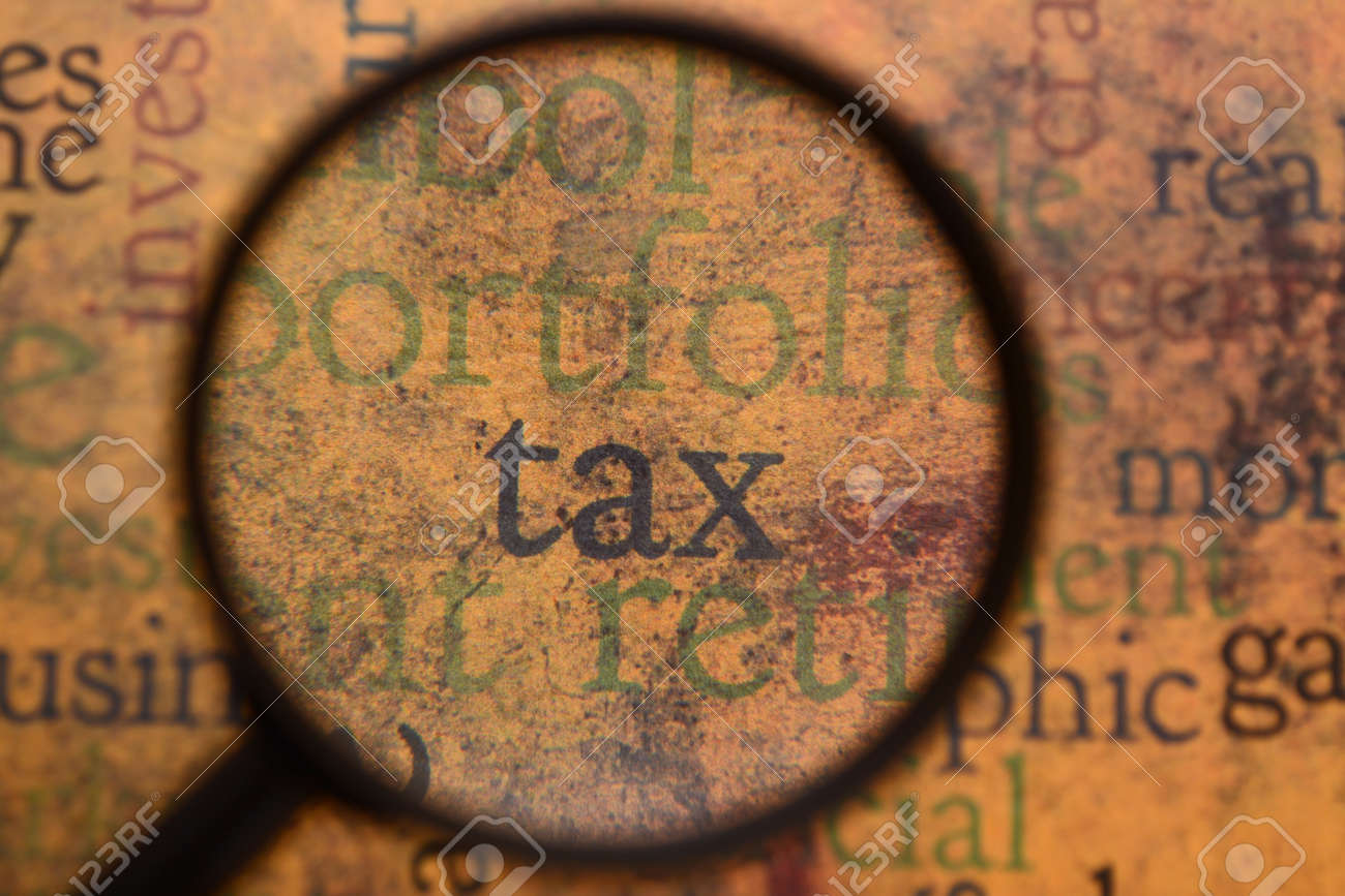 Tax concept - 11861183