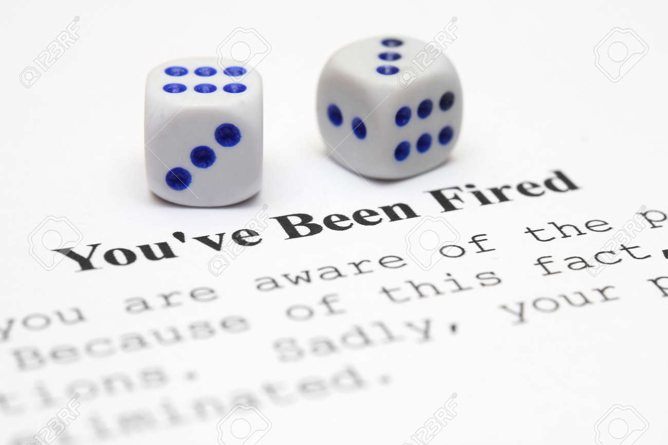 You are fired Stock Photo - 12149845