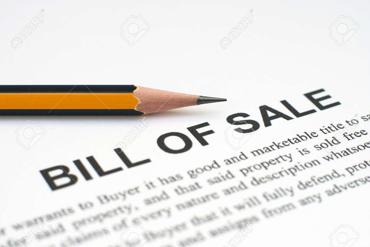 bill of sale stock photo picture and royalty free image image