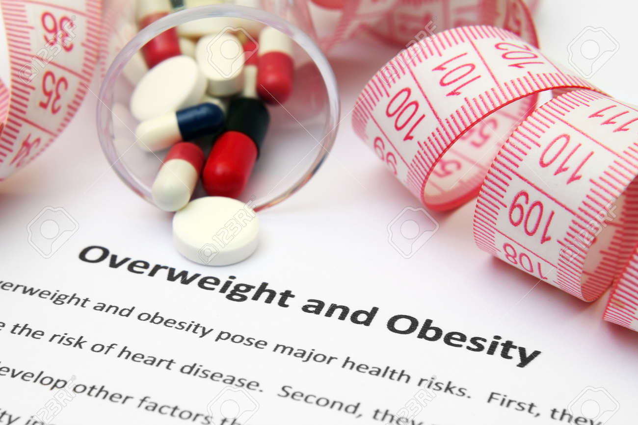 Overweight and obesity Stock Photo - 12559073
