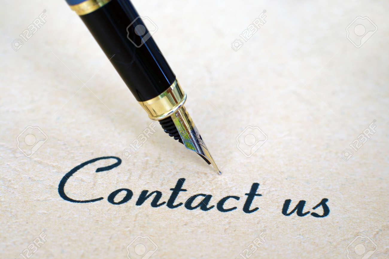 Contact us Stock Photo - 12558800