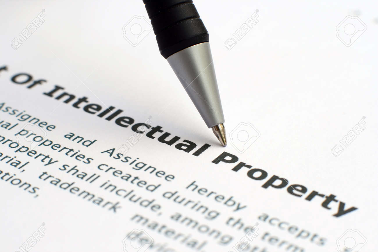 Intellectual property form Stock Photo - 12558822