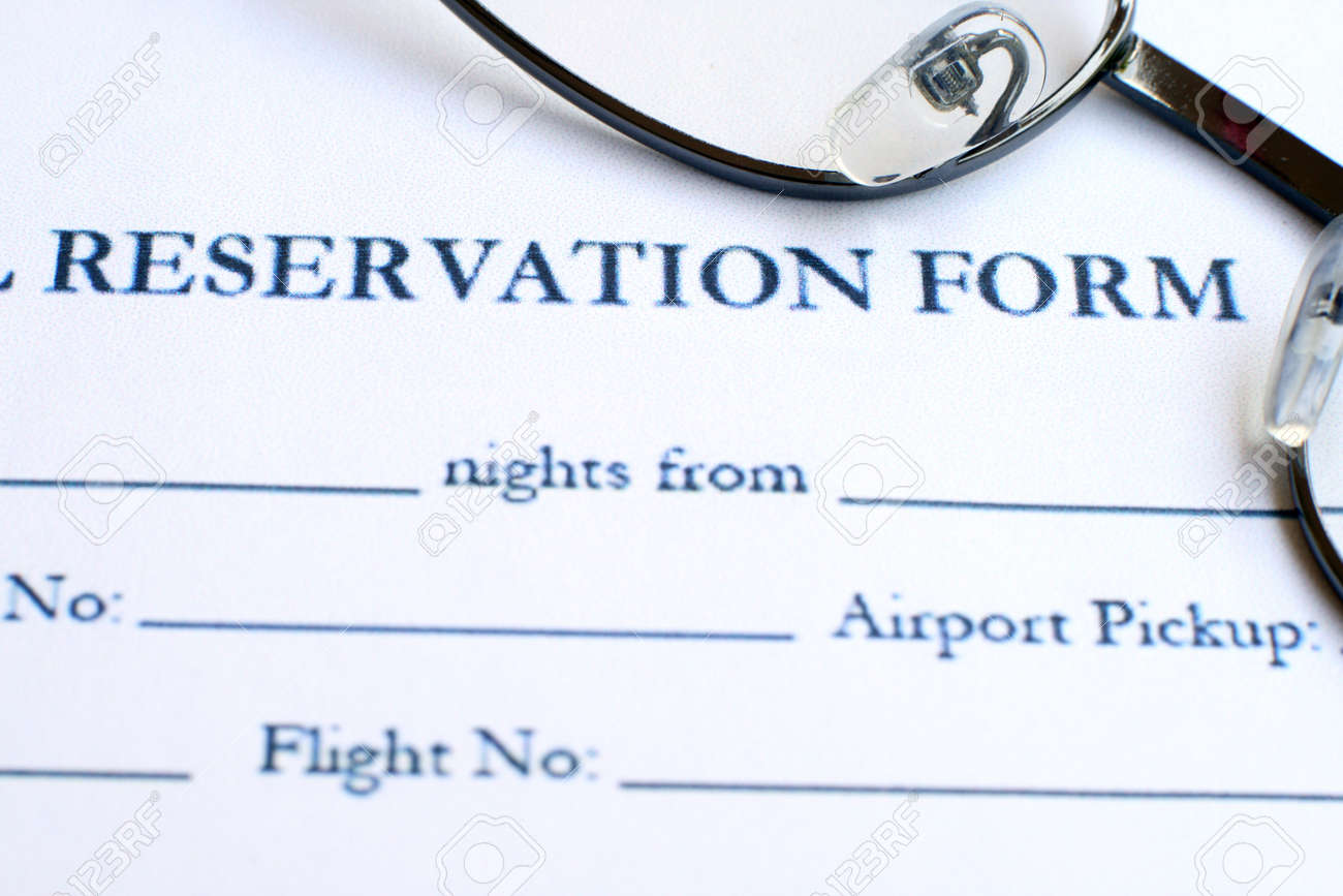 Hotel reservation form stock photo picture and royalty free image hotel reservation form stock photo 12558641 thecheapjerseys Choice Image