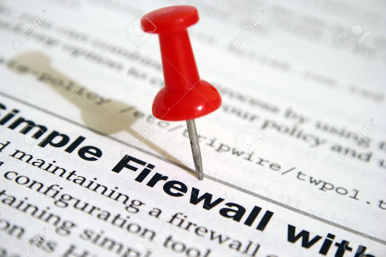 FIrewall Stock Photo - 12827300