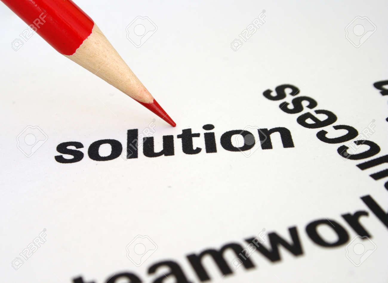Solution Stock Photo - 12828917
