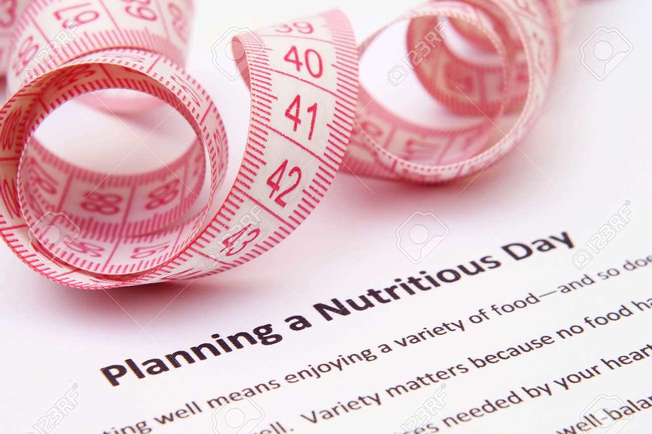 Planning a nutritious day Stock Photo - 12829341