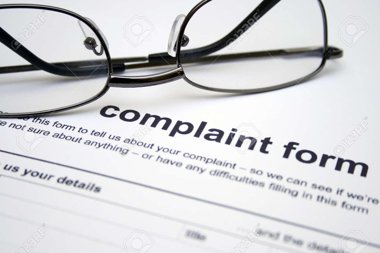 Doc460595 Customer Complaint Form Examples Doc460595 Customer Complaint  Form Examples