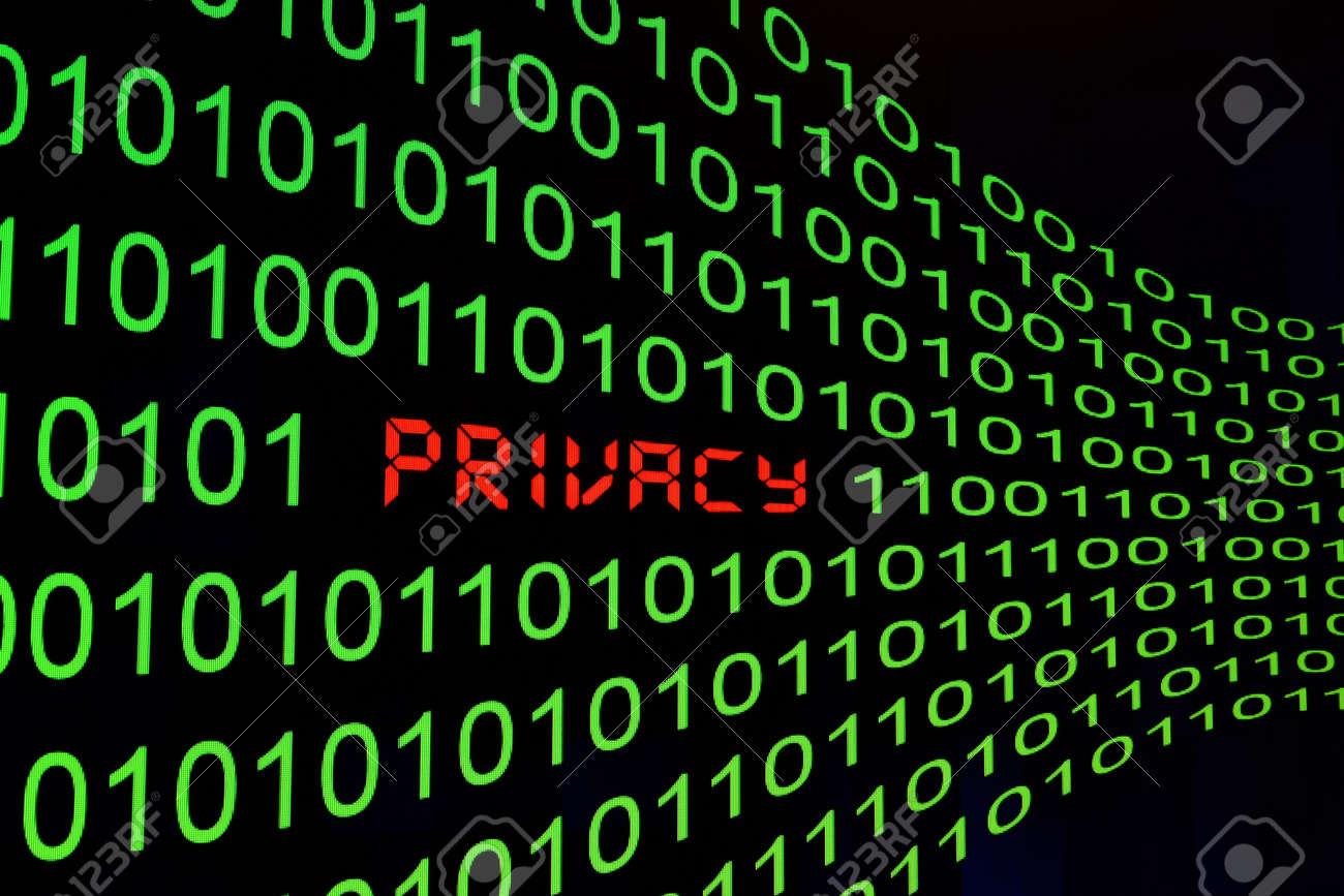 Privacy cocnept Stock Photo - 13576501