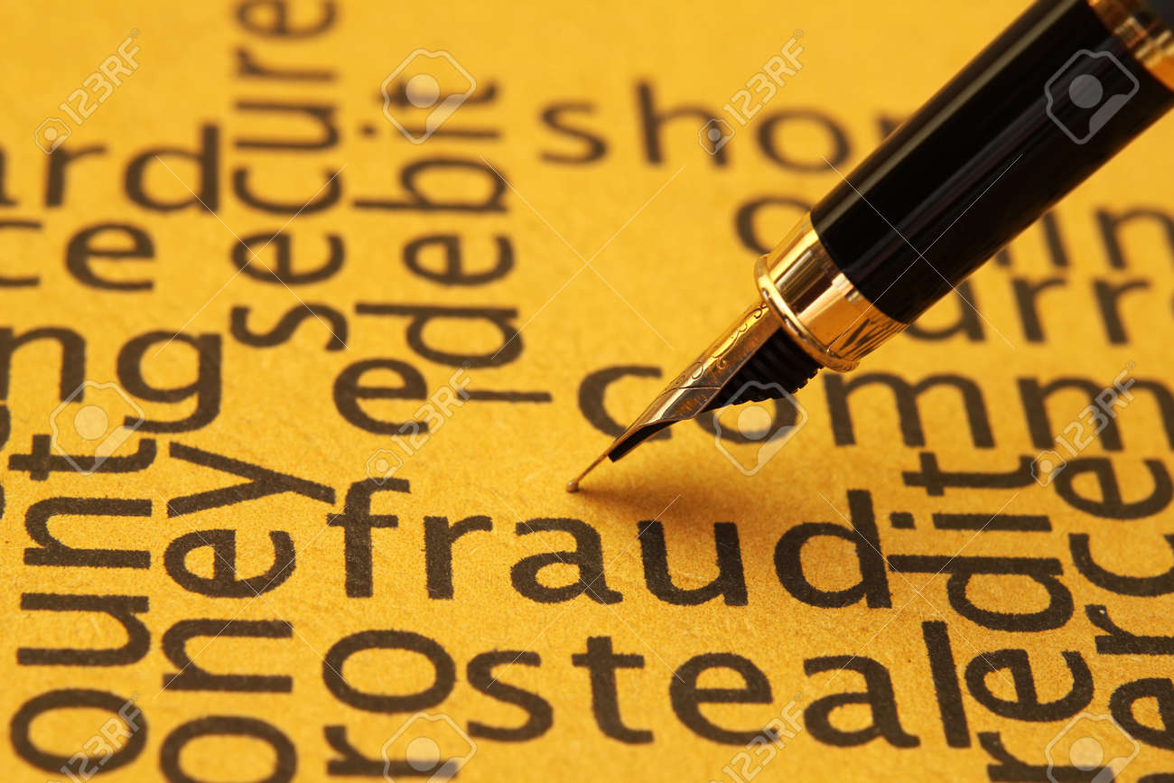 Fraud Stock Photo - 14388888