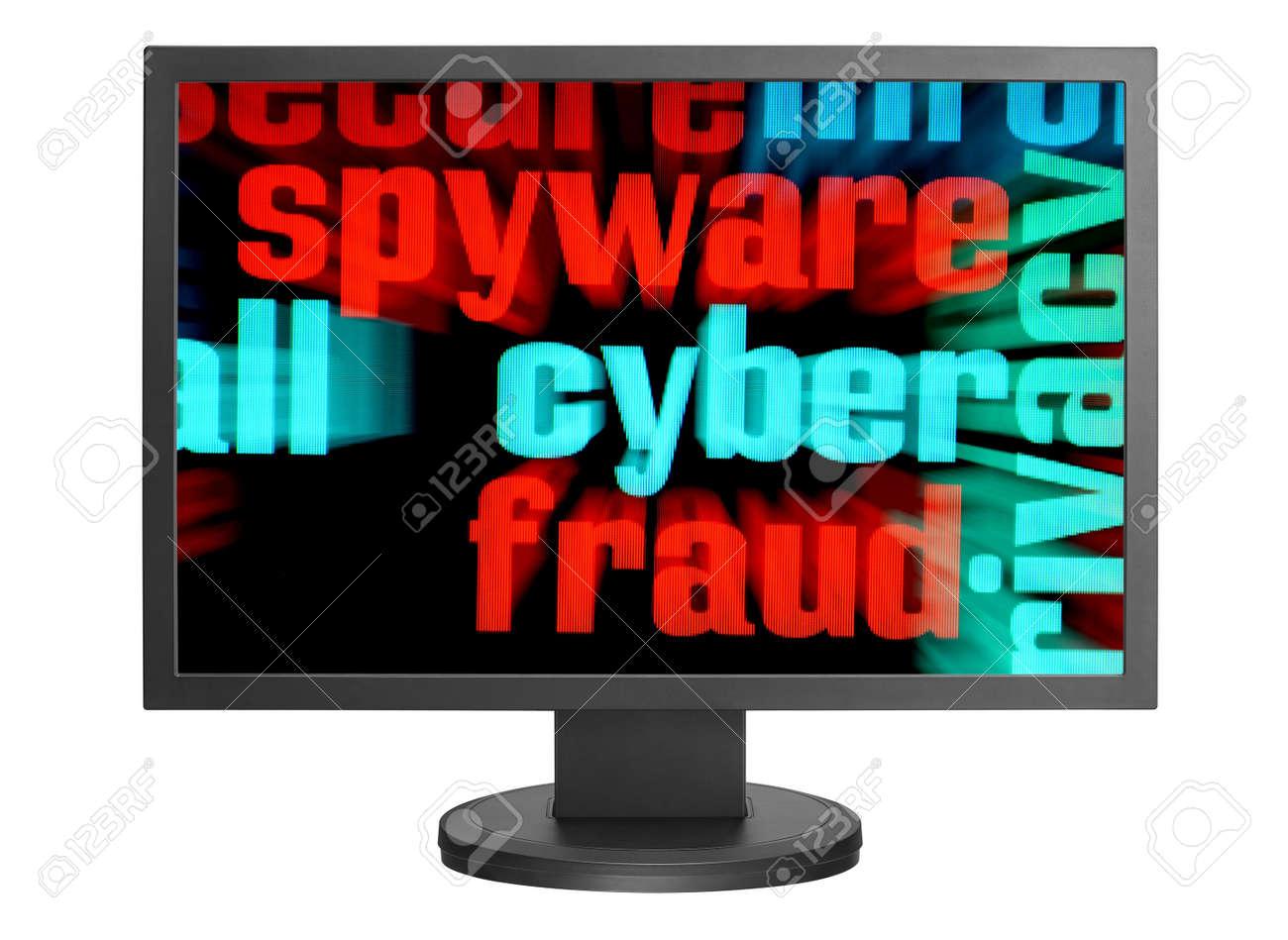 Syber  fraud Stock Photo - 14555377