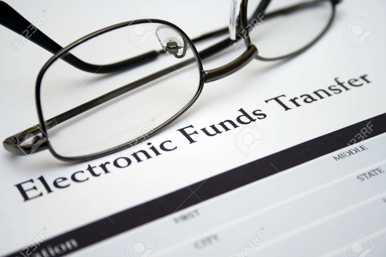 Electronic funds transfer Stock Photo - 14765812