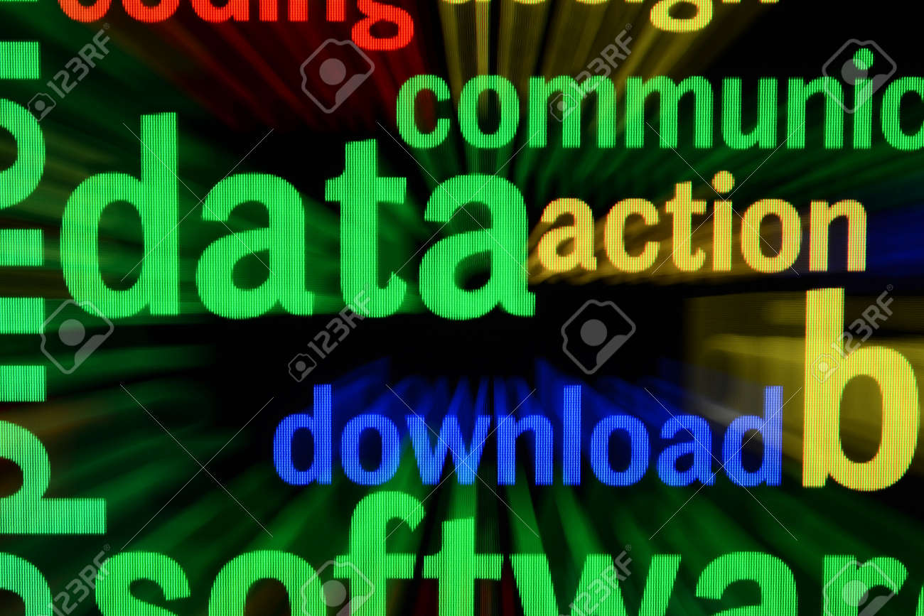 Data download Stock Photo - 17006593