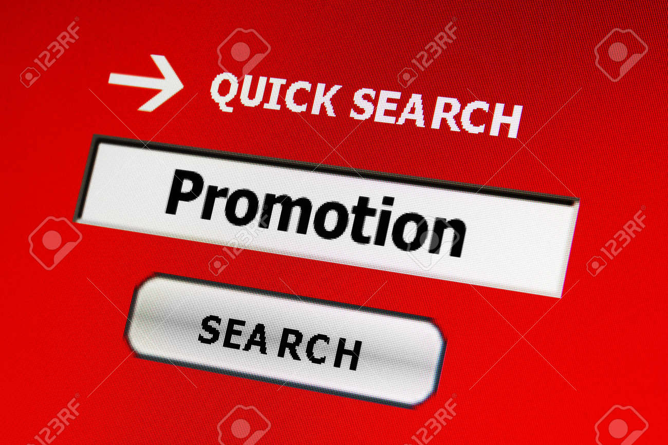 Web promotion Stock Photo - 17006639