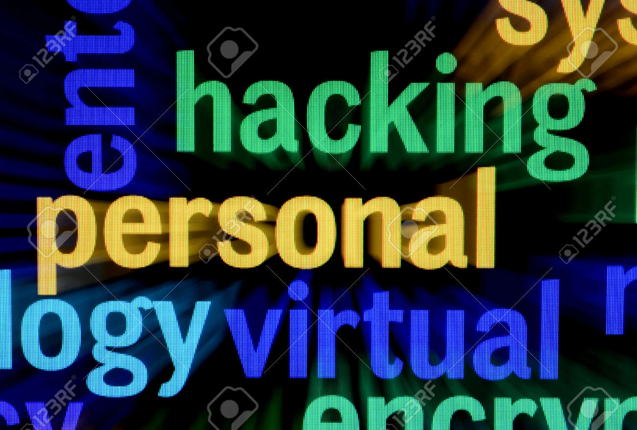 Hacking concept Stock Photo - 17089312