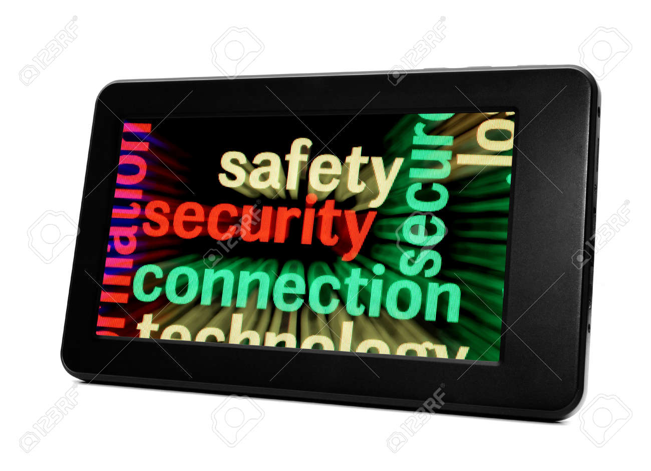 Safety security connection Stock Photo - 18389212