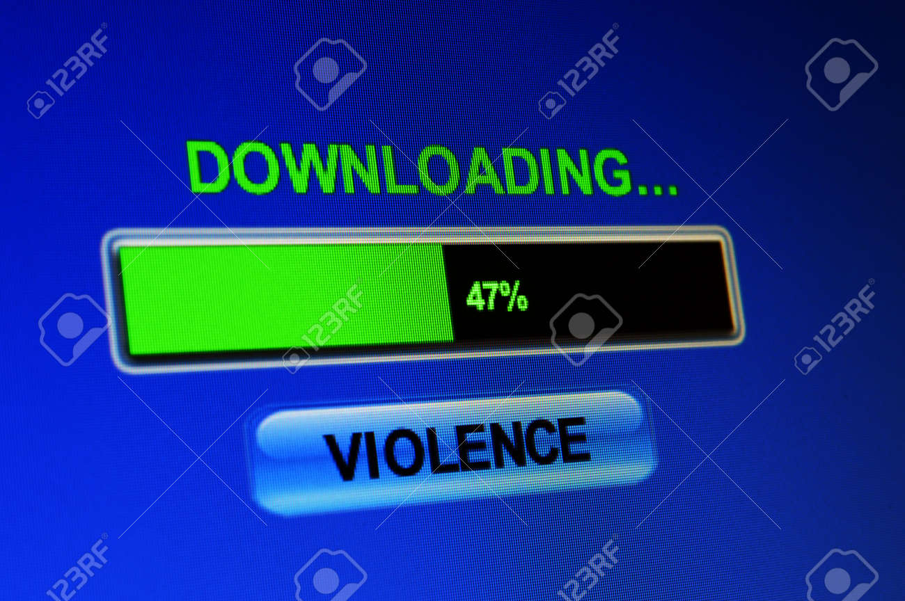 Downloading riot Stock Photo - 21964953