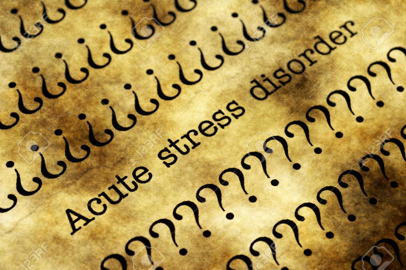 Resultado de imagem para transtornos de estresse agudo
