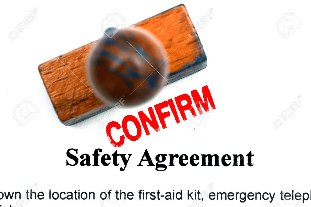 Safety Agreement Stock Photo Picture And Royalty Free Image Image