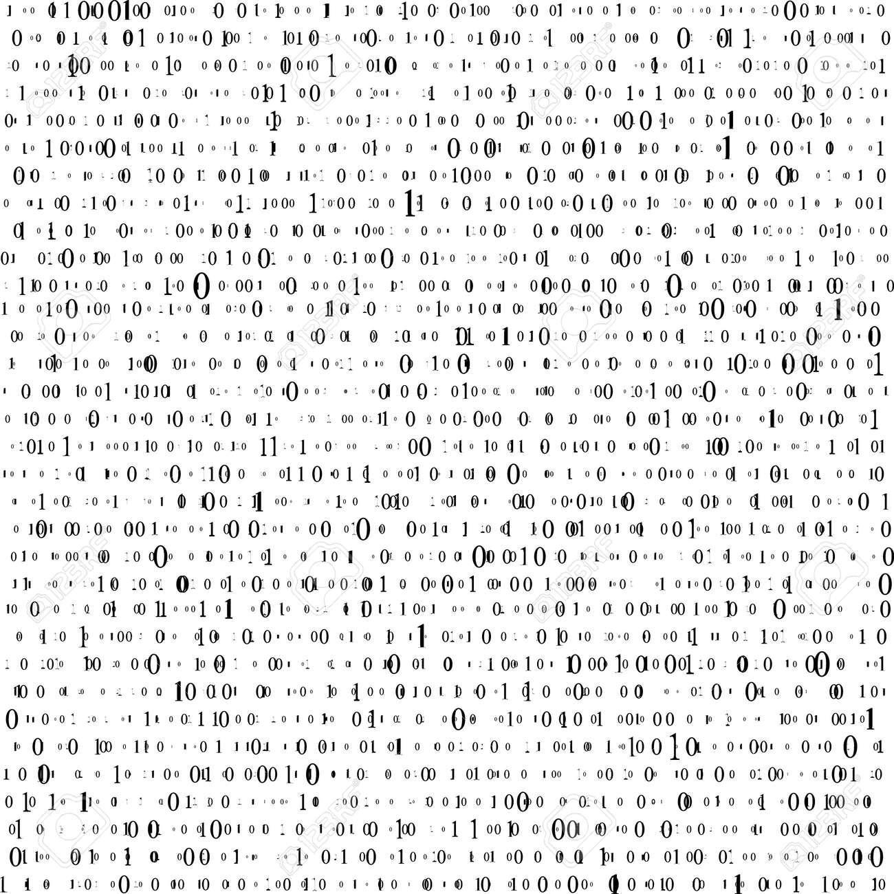 Abstract Matrix Background. Binary Computer Code. Coding. Hacker concept. Vector Illustration - 120995417