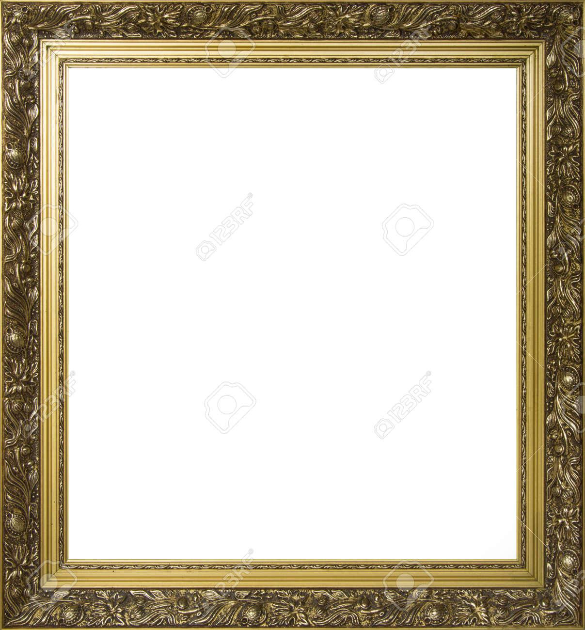Chapado En Oro Marco Para La Pintura O La Fotografía Fotos, Retratos ...