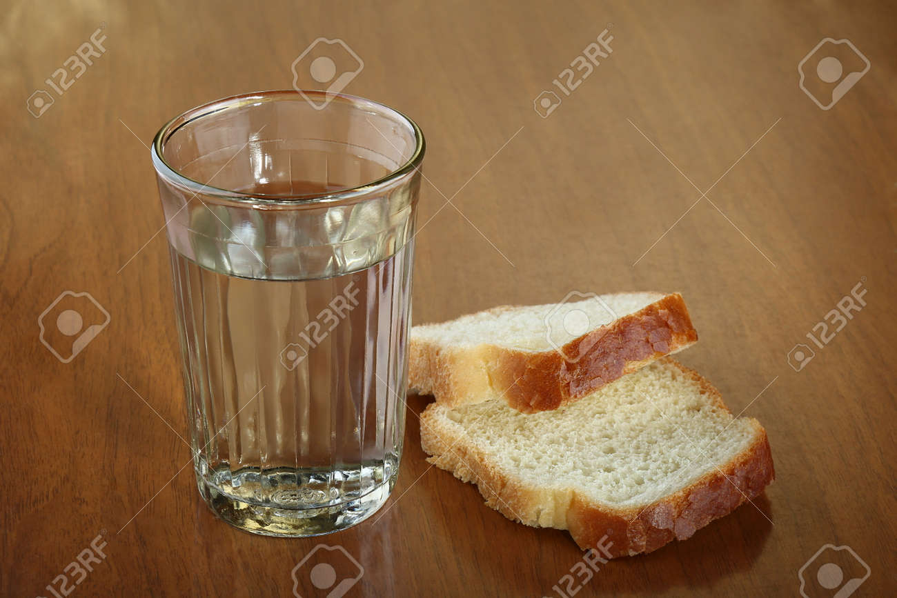 water and bread diet