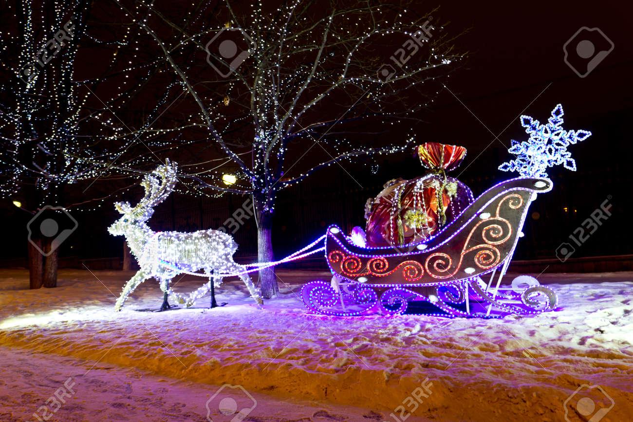 Christmas  illuminated Stock Photo - 16935620