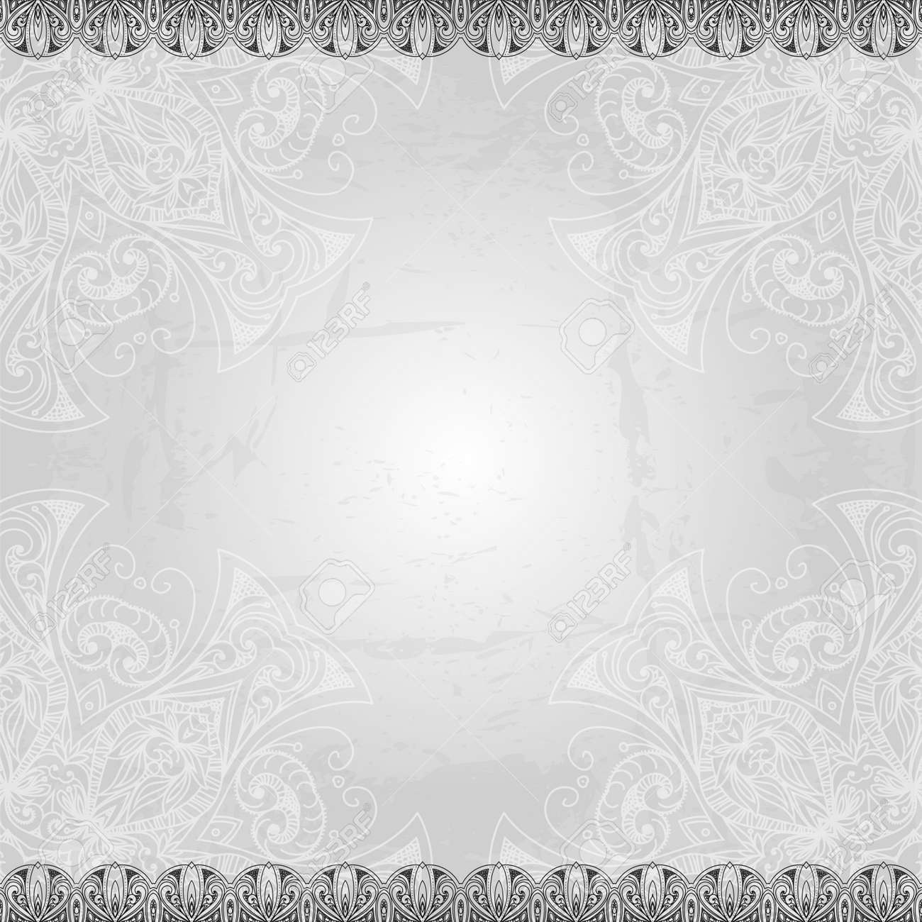 Free Vintage Vector Pattern Hand Drawn Abstract Background Retro HD Wallpaper Silver