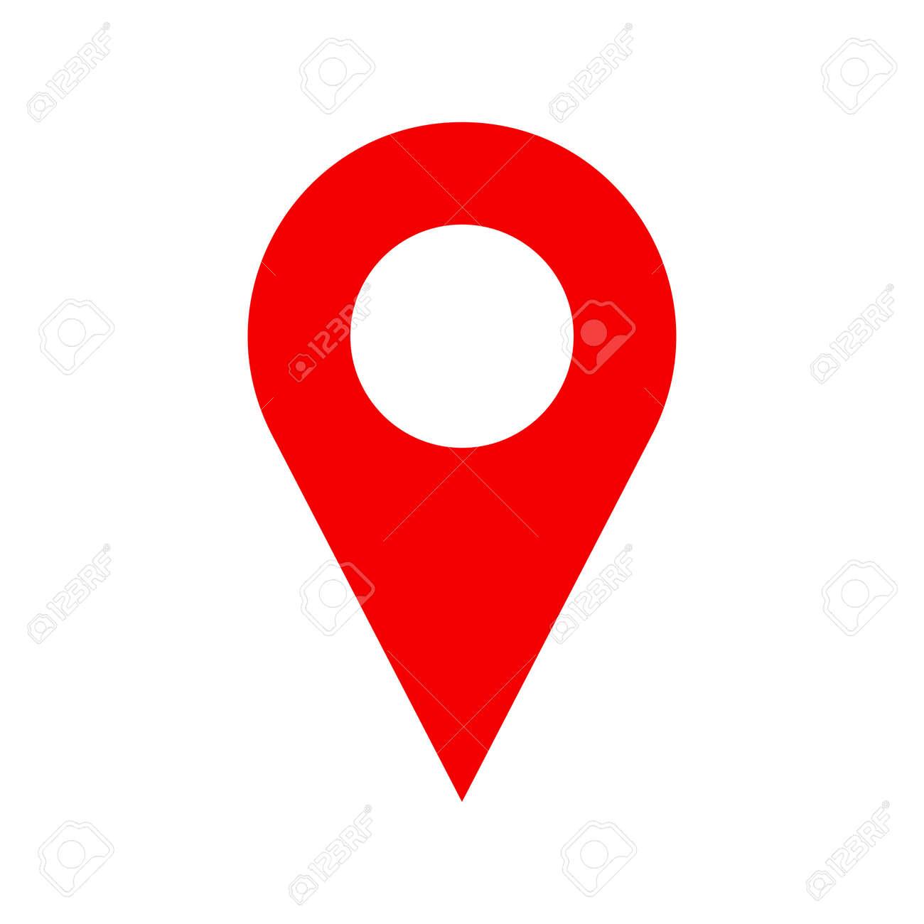 56418246 Vector Pinpoint Icone Isole Sur Fond Blanc Symbole Signe Pour Le Site Web N