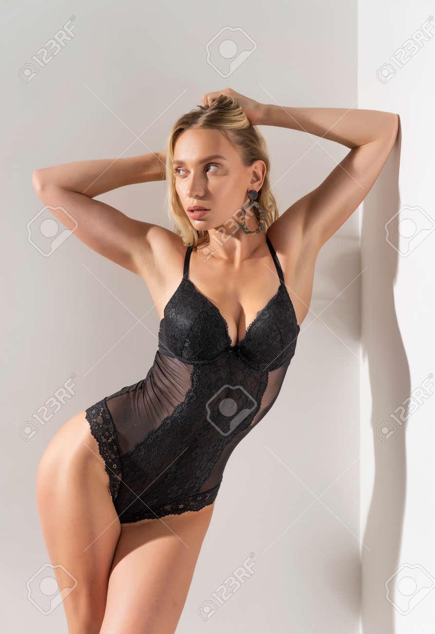 Skinny Blonde Teen Model