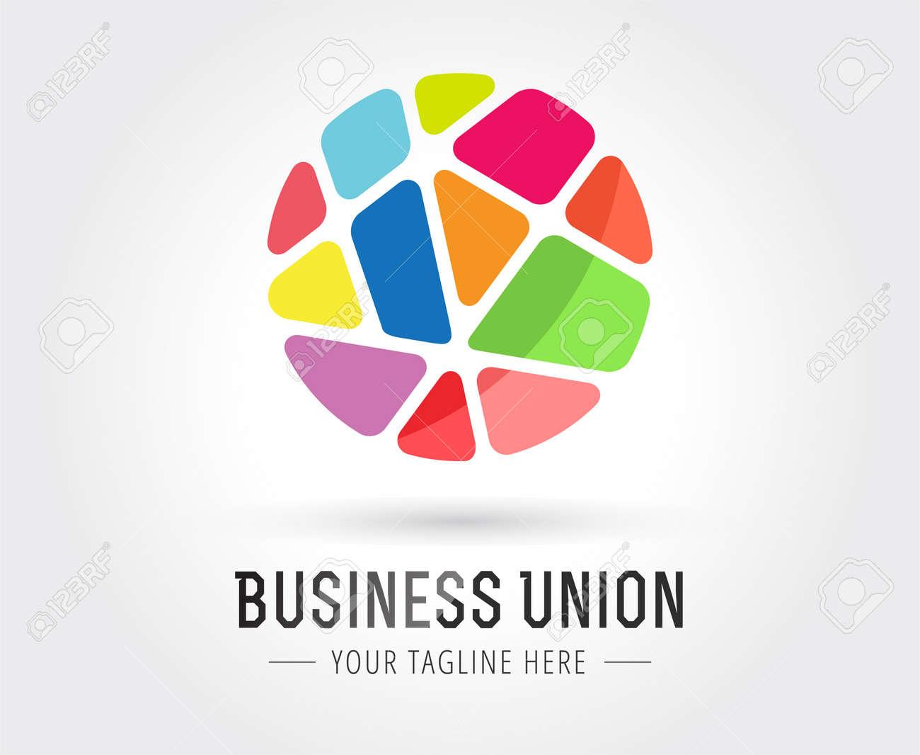 Zusammenfassung Vektor-Logo-Vorlage Für Branding Und Design ...