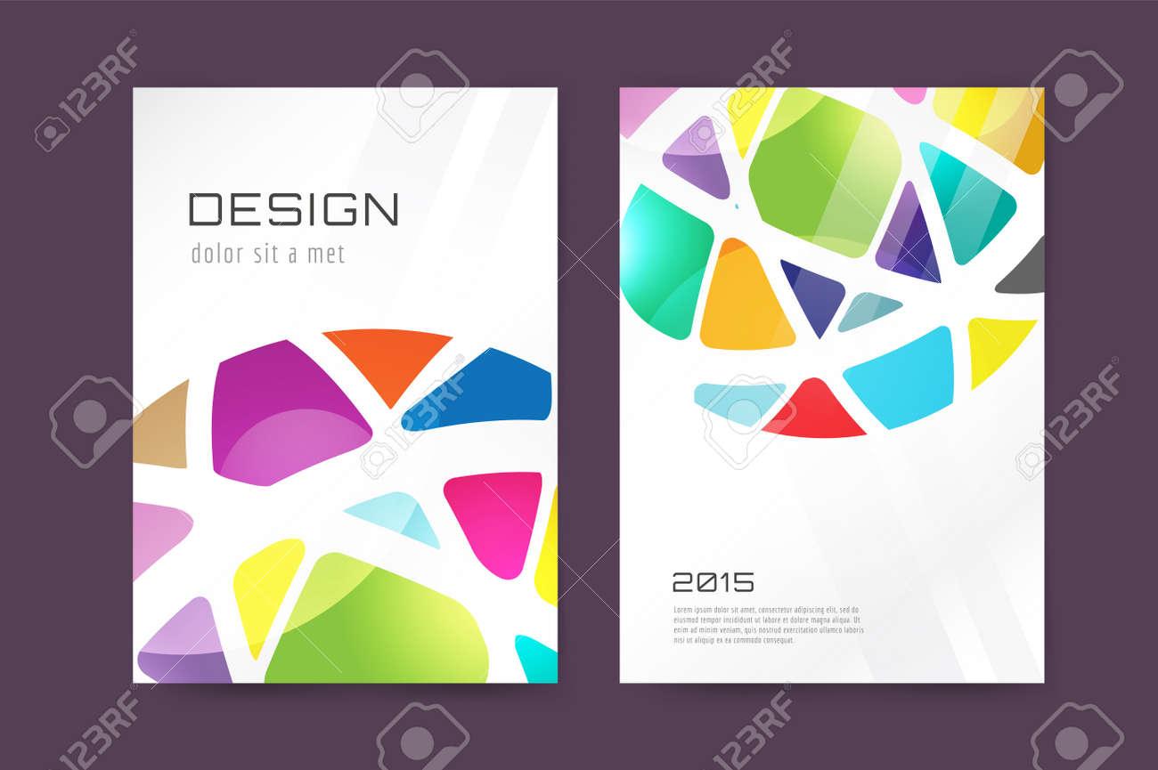 Creative Book Cover Design Samples ~ Vector globe brochure template abstract arrow design and creative