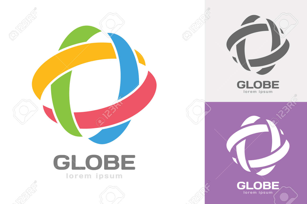logo grey vectors olympic images painted rings vector depositphotos illustration free over circles royalty background stock