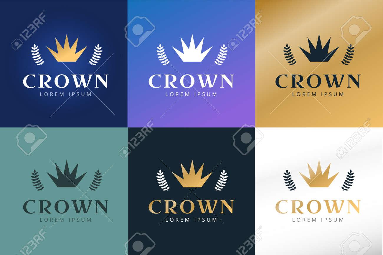 Crown abstract logo vector template hotel logo kings symbol crown abstract logo vector template hotel logo kings symbol power shape icon buycottarizona