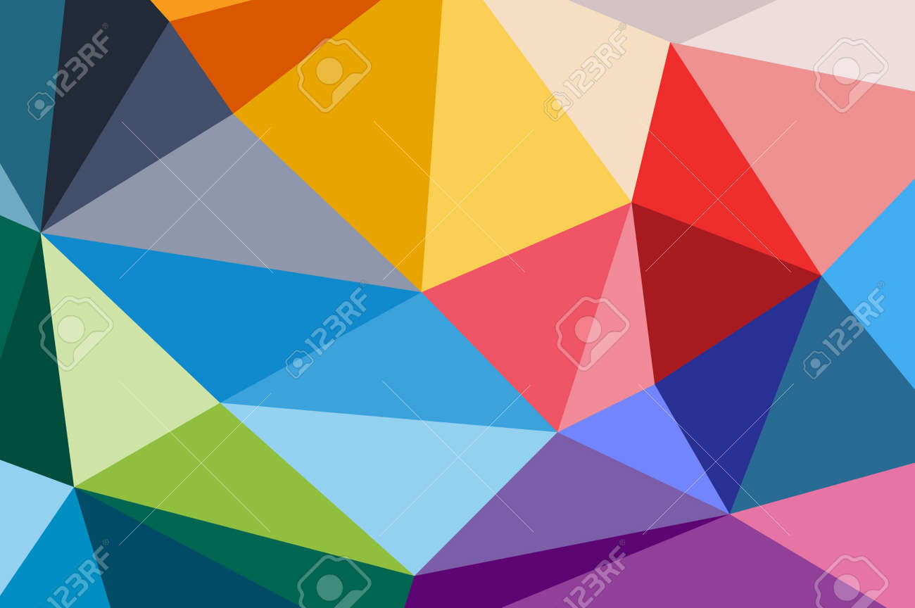 Abstract Design Triangle De Fond Fond D Ecran De La Technologie Vectorielle Technology Background Motif De Triangle Des Lignes De Couleur De Fond Geometrique Abstrait Art Papier Peint Background Design Web Clip Art