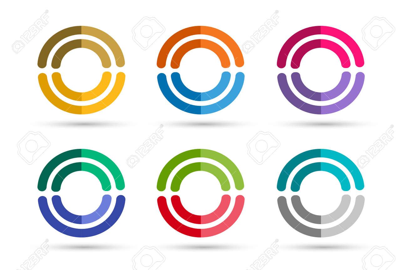 Technology Circle Logo. Orbit Rings Logo. Vector Circle Logo ...