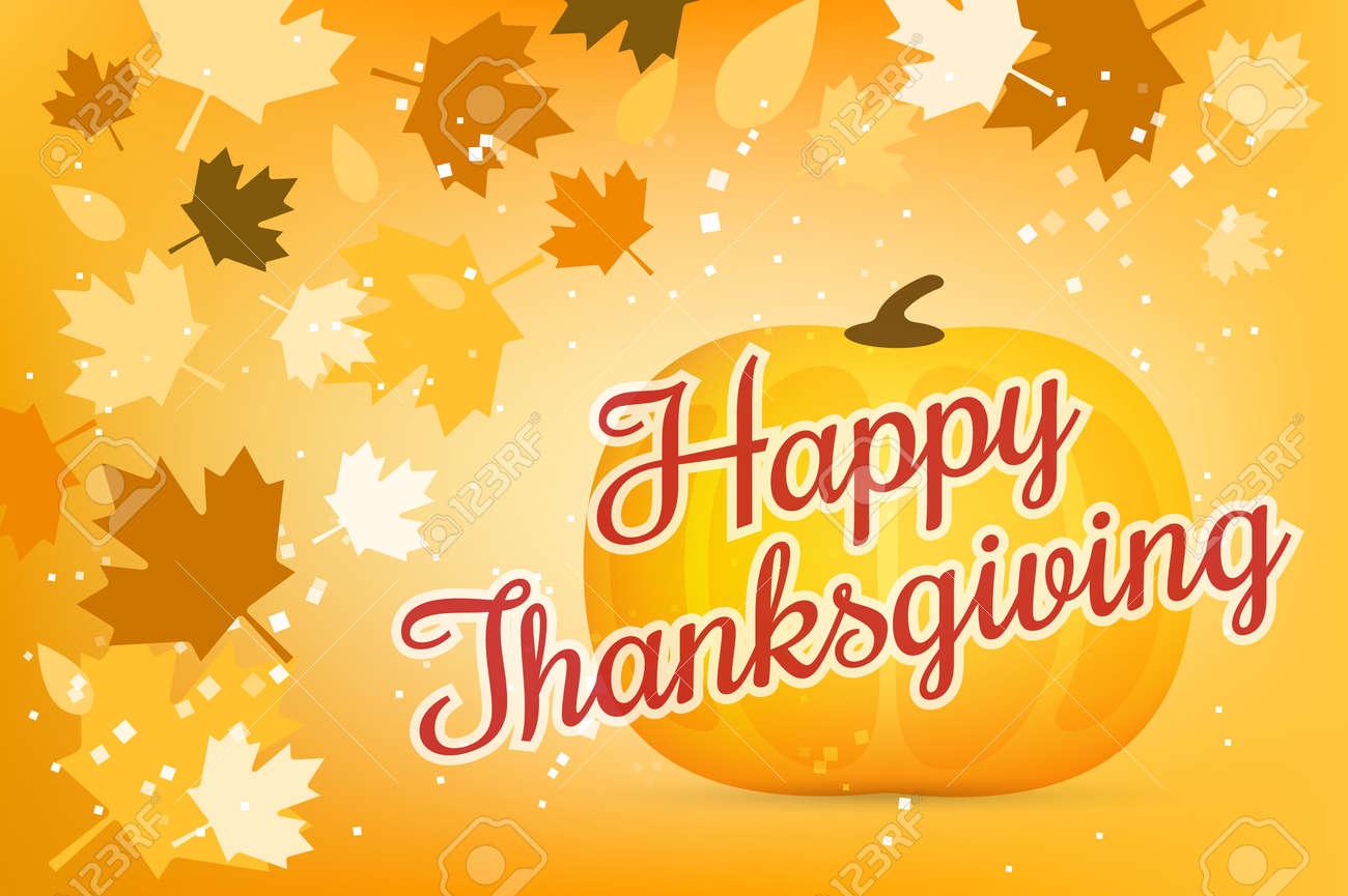 Thanksgiving Day Illustration. Thanksgiving Card. Thanksgiving ...