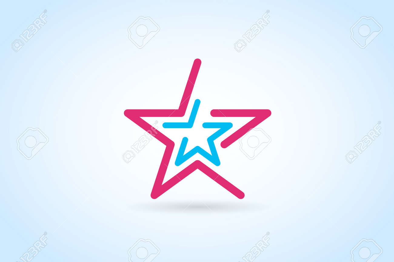Star Vector Logo Star Icon Leader Boss Star Winner Star Rating Royalty Free Cliparts Vectors And Stock Illustration Image 46200885