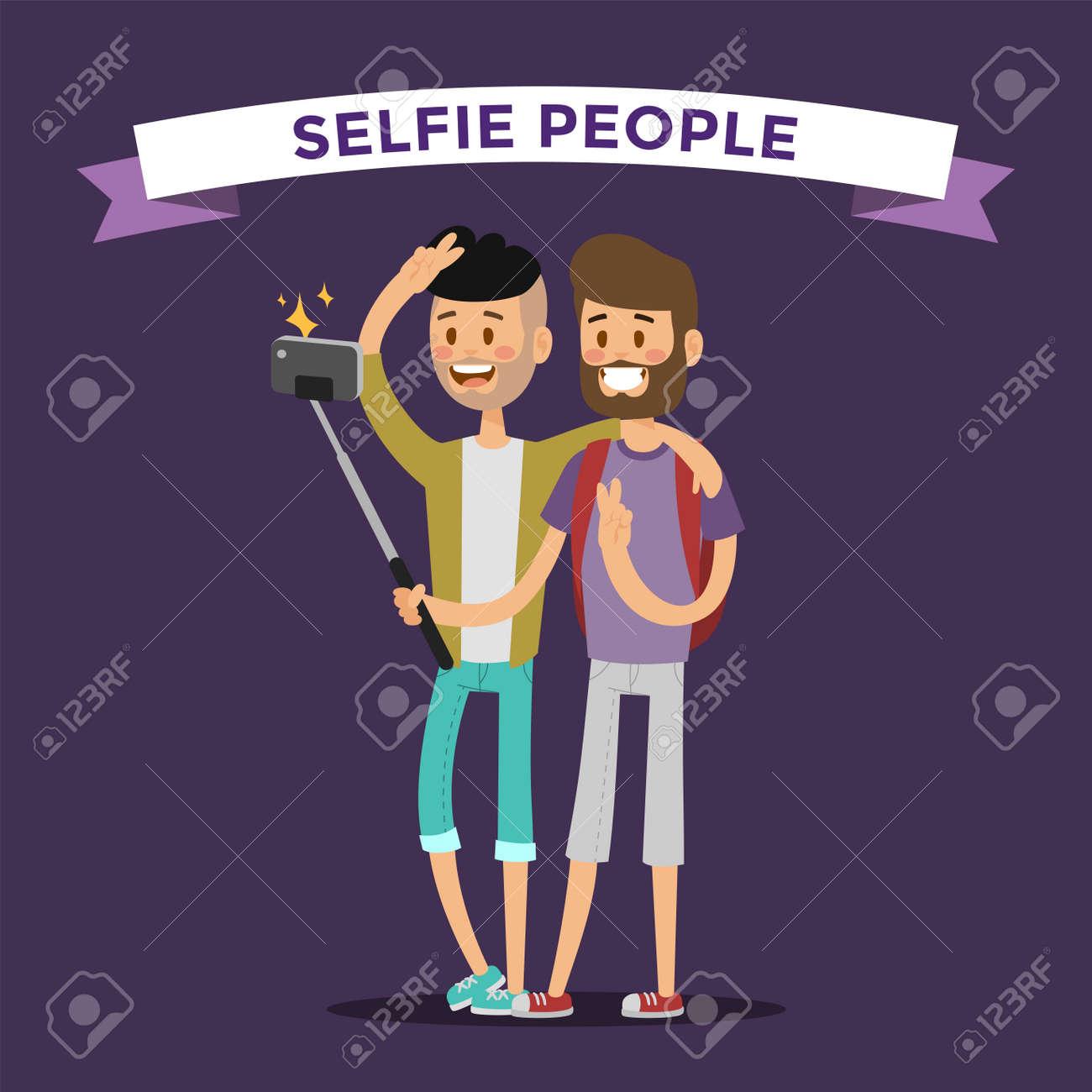геев в иллюстрации