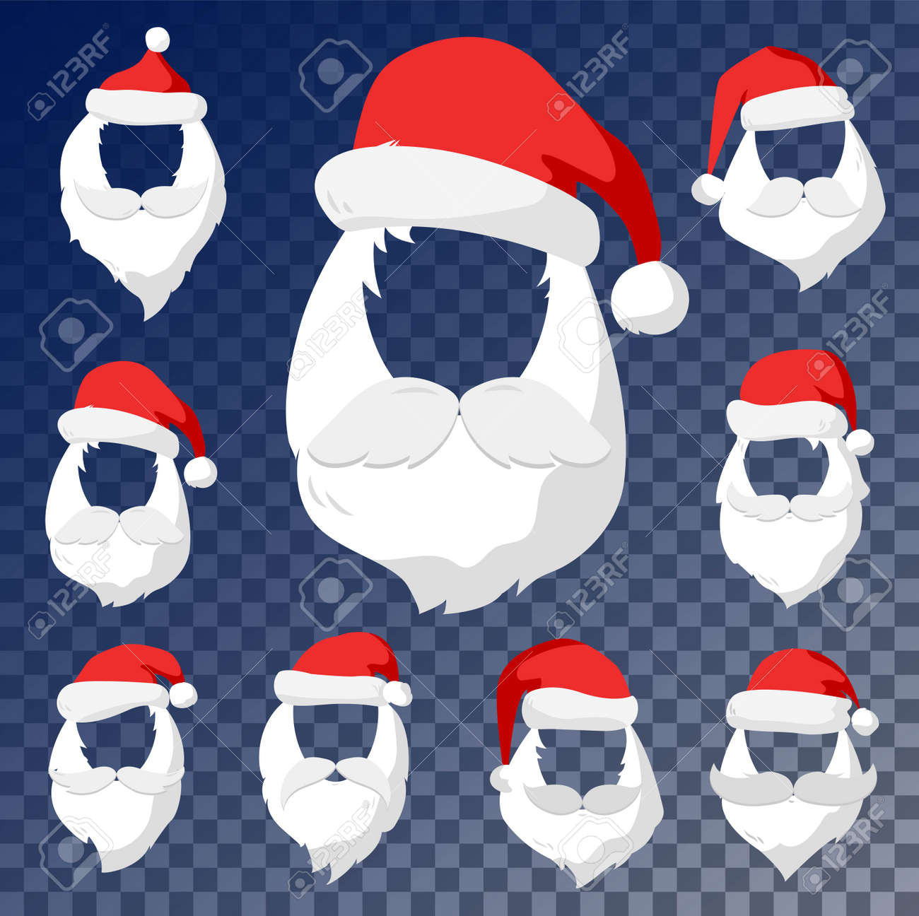 Santa Face Cut Out Template Yelomdiffusion