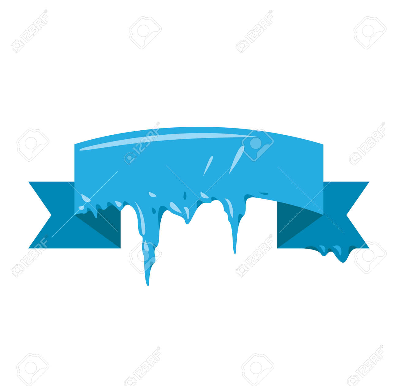 collection of frozen icicle snow winter vector banner icicle rh 123rf com winter vector free winter vectors free download