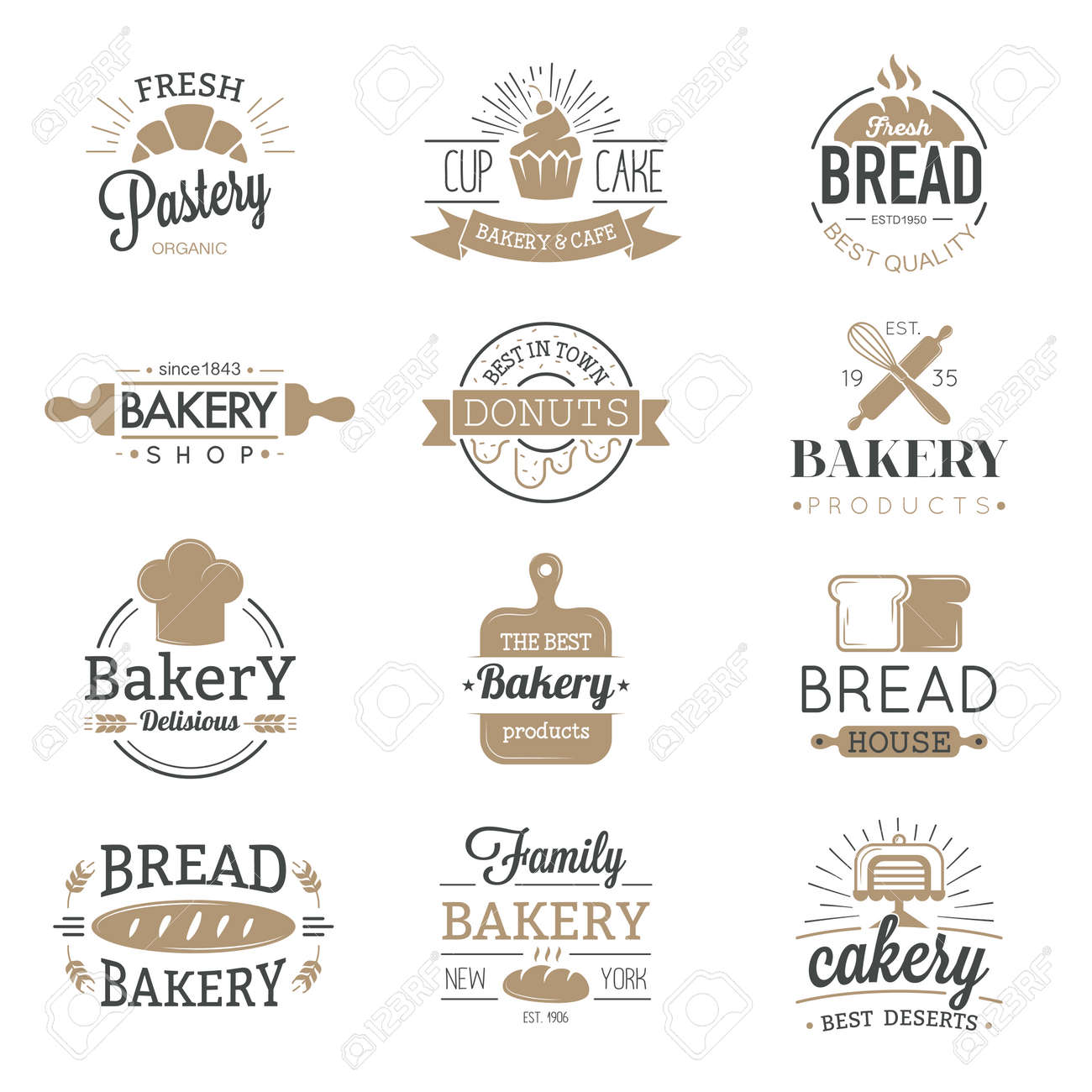 Panaderia Logo Vector