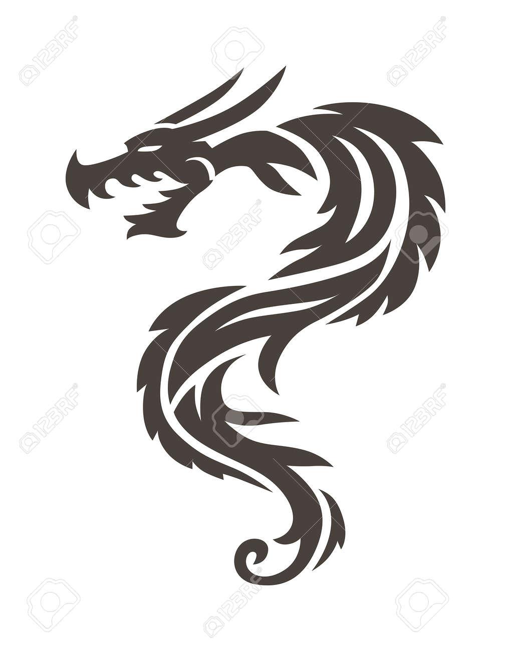 Tatuajes Faciles De Hacer De Dragones