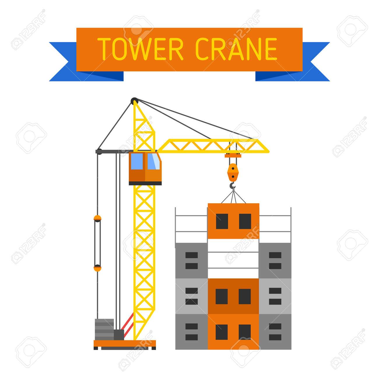crane urban house architecture and crane exterior house built construction crane lifts concrete slab construction - House Built On Concrete Slab