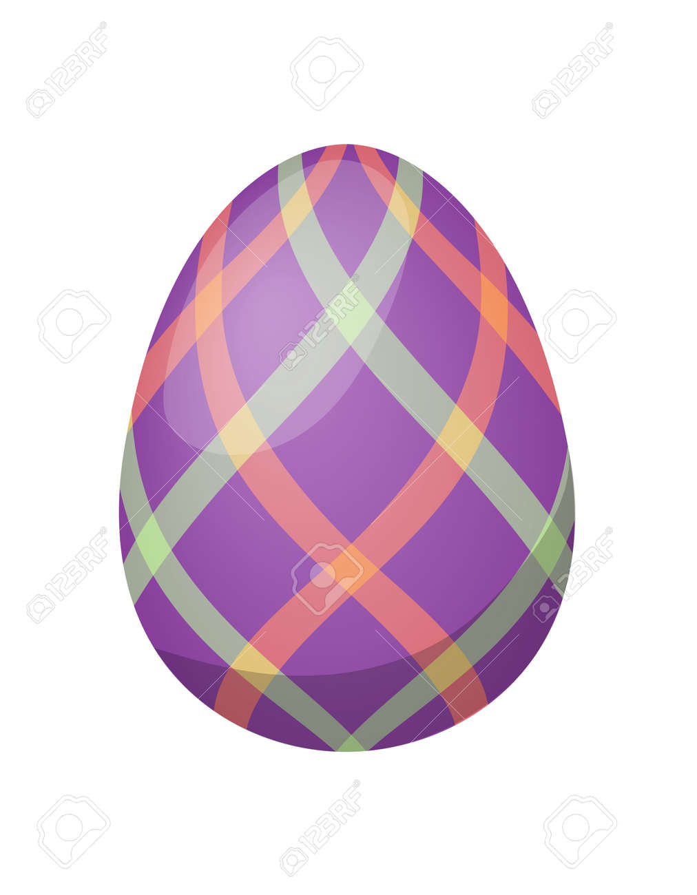 Color easter egg cartoon spring decoration and food egg symbol color easter egg cartoon spring decoration and food egg symbol flat vector illustration colorful easter buycottarizona