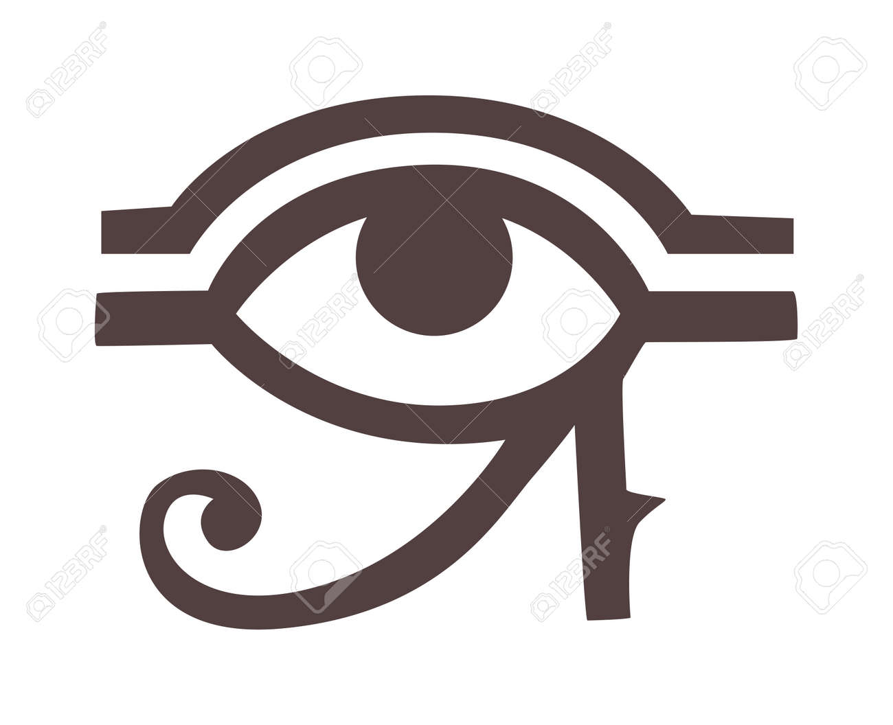 Thoth Egyptian God Symbols Clipart Library