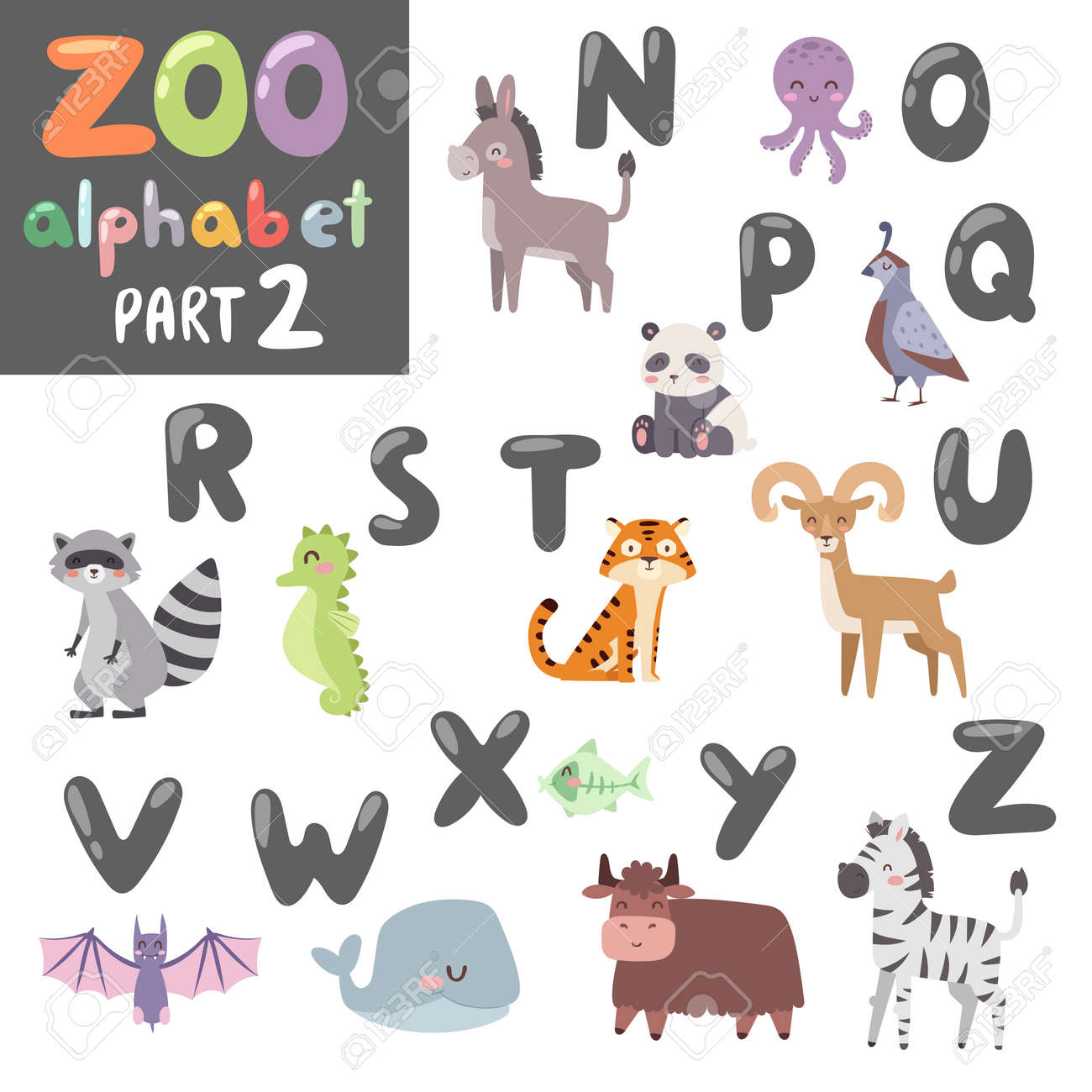 121 fish vampire stock vector illustration and royalty free fish animals alphabet symbols and wildlife animals font alphabet design vector cute vector zoo english alphabet biocorpaavc Gallery